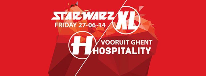 STAR WARZ XL & HOSPITAL RECORDS present HOSPITALITY