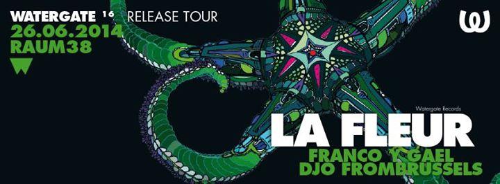 WOOD THURSDAY ★ LA FLEUR ► WATERGATE TOUR CD release party !!!