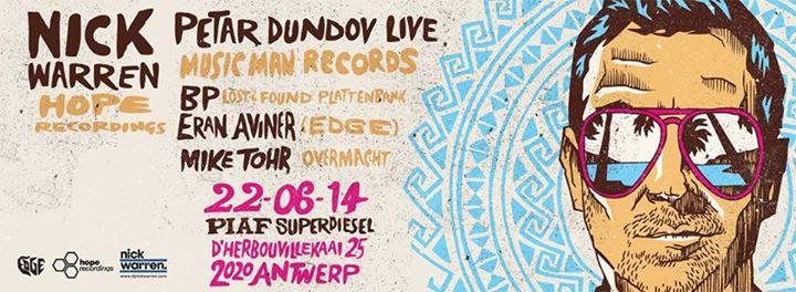 ★ EDGE: The Summer Edition ★ w/ NICK WARREN & PETAR DUNDOV LIVE