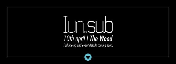 WOOD FRIDAY 10/04 ★ IUNSUB