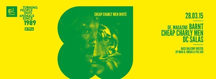 #TPIA: Cheap Charly Men invite Barnt (DE)