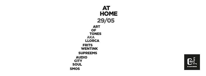 ART OF TONES aka LLORCA (20:20 Vision, Local Talk) + FRITS WENTINK (Wolf Music, Heist Recordings)